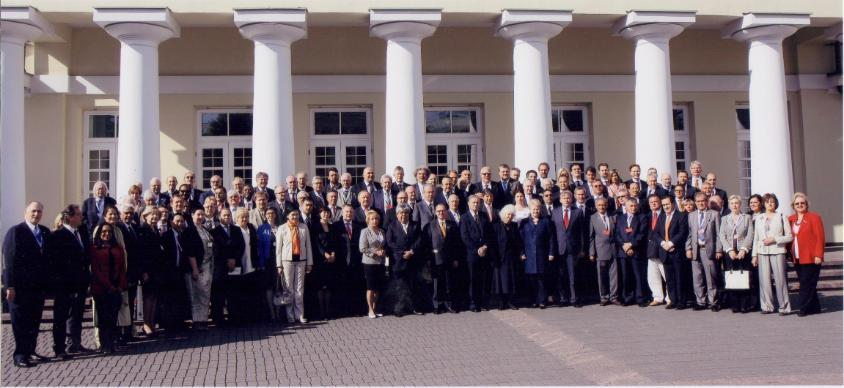 Mr. Ibraheem O. Mahmood with H.E Dalia Grybauskaitė \ President of the Republic of Lithuania The 5th convention of Consuls in Vilnius 10- 13th June 2012