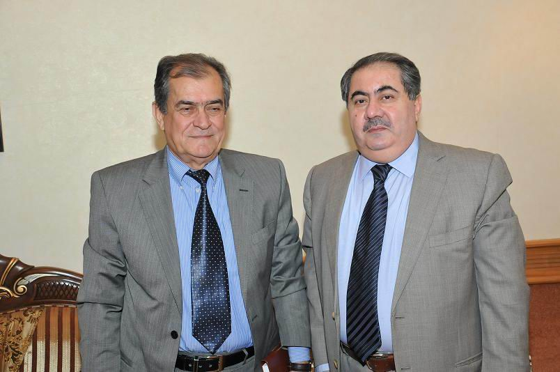 With H.E Mr. Hoshiar Zibary Iraqi MFA